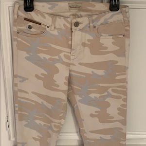 Scotch and Soda camo jeans